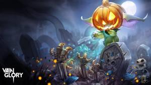 Petal Halloween Splash-Vainglory by Noxiihunter