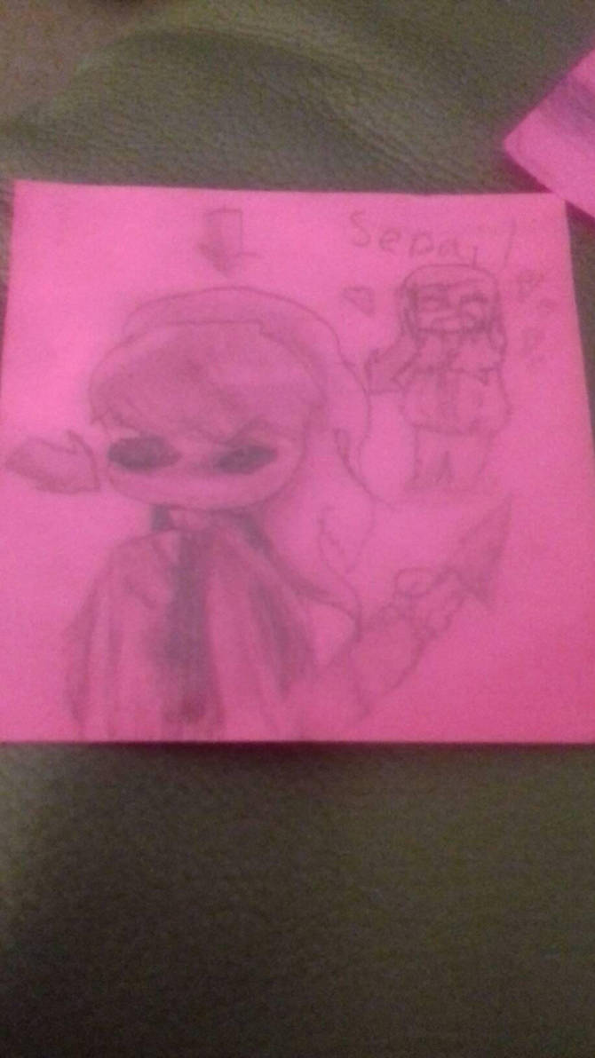 made this in class when I was bored XD by sleepysienna64