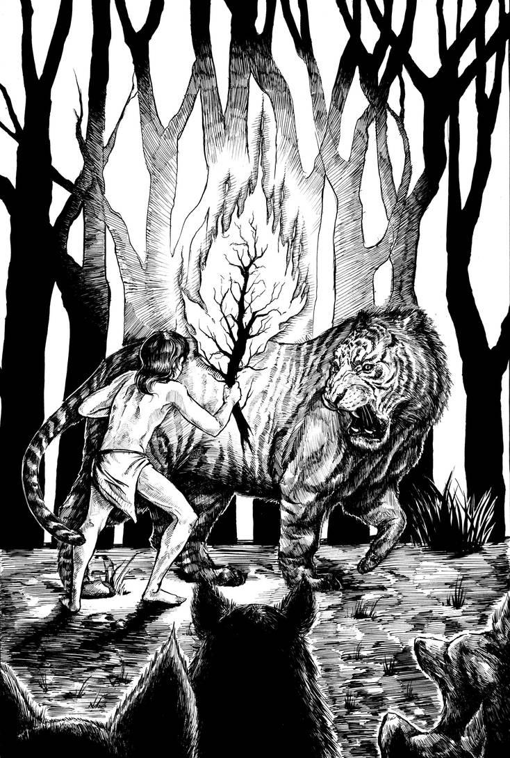 Jungle Book: Shere Khan by Carliihde