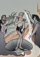 Birth of Sheshell by Carliihde