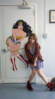 Wonder Woman Painting DevID by Carliihde