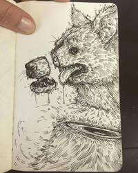 Ghost Dog Sketch by Carliihde