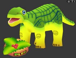 Pleo the Dinosaur by Cow-Tail