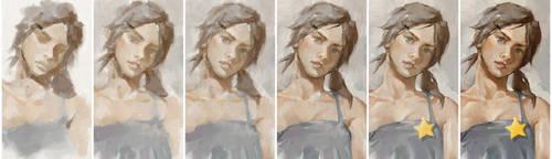 Natasha Star ArtRage tutorial by GBWhisper