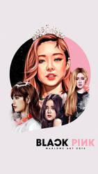 Jennie Wallpaper by MarloweART22
