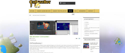 Official website version 1.2 and some news =) by OhPonyBoy