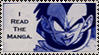 Read the Manga Stamp -DBZ by SirCrocodile