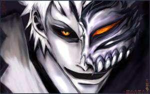 Hollow Ichigo Wallpaper by SirCrocodile
