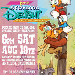Disney Afternoon tribute show this Saturday! by Brandonstarr