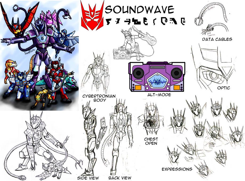 Reference Sheet Sg Soundwave By Soundbluster On Deviantart
