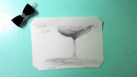 wine time (1) by crystalzwolf