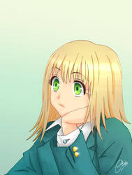 Anime Girl 003 by Creatia7