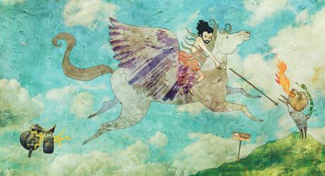 Pegasus by directors-cat