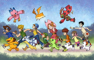 Hey Digimon! by wizardofkitty