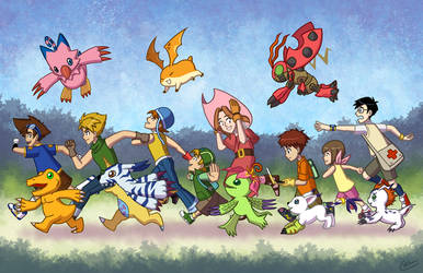 Hey Digimon! by wizardofkitty