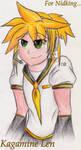Kagamine Len by Rebecca1208