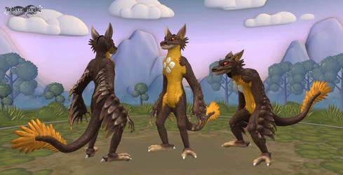 Spore - Culpeo-Fox's Phisi by Rebecca1208