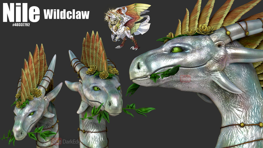 ZBrush - Nile, Wildclaw - FlightRising by Rebecca1208