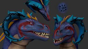 ZBrush - Penya Leviathan by Rebecca1208