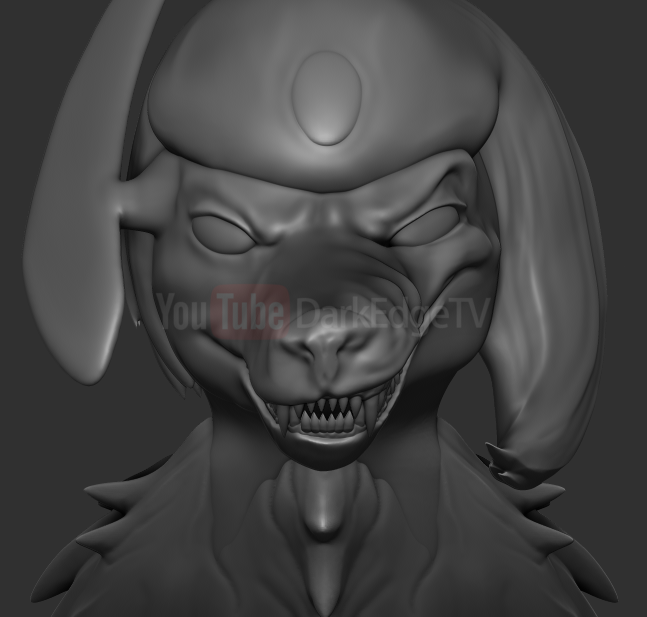 WIP - Glass the Absol by Rebecca1208