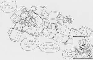 Inktober # 06 - Ratchet by pika