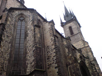 cathedral in Prague by cravspuma
