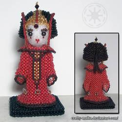 Beaded doll: Padme Amidala by crafty-maika
