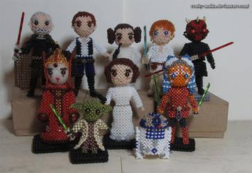 A Year of Dolls: Star Wars by crafty-maika