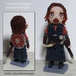 Beaded doll: Boromir by crafty-maika