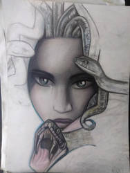 My medusa by Roxy-the-art-nut