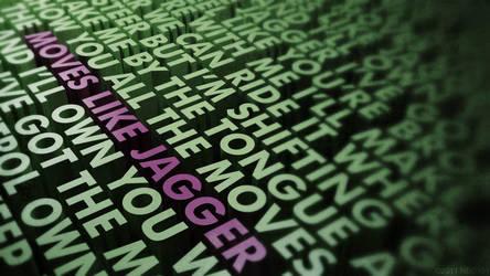 Moves Like Jagger 3DLyrics by Neo101
