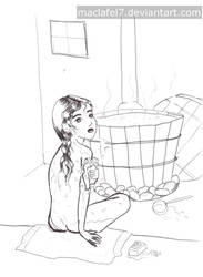 Bathhouse by Maclafel7