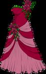 Elegant Dress by Gullsko