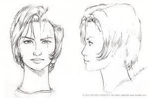 Face girl concept by Torbak