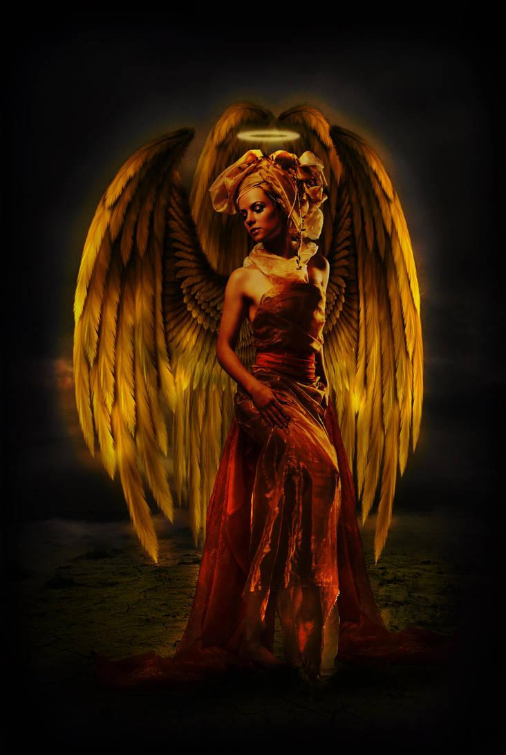 Angel of Greed by Anarielhime