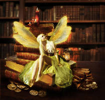 Book Fairy by Anarielhime