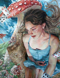 Alice of Wonderland by BriannaAngelakis