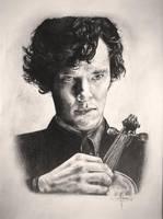 Sherlock Holmes (Benedict Cumberbatch) by Amy221B