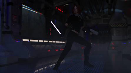 Jedi Iray 2 by JJLoy1