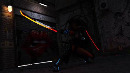 Cyber Samurai 2 by JJLoy1