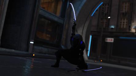 Cyber Ninja 2 by JJLoy1