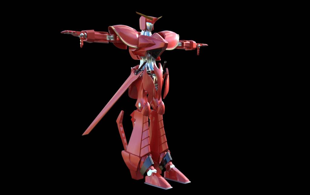 Cosmic Knight MK 2 by JJLoy1
