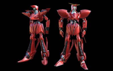 Cosmic Knight MK 2 comparison by JJLoy1
