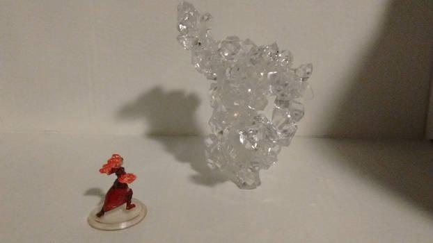 Crystal Golem in battle by TFA-Creations