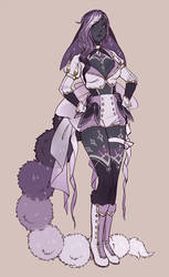 outfit design commission by manosu