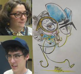 caricature- david n tawyna 10 by chrisCHUA