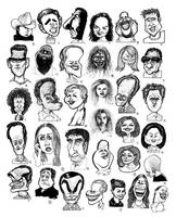 Caricatures combined 2001 by chrisCHUA