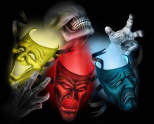 Masks by TheElephantMan