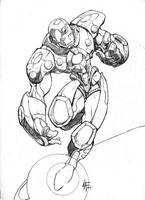 iron man by -adam-