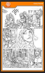 Unused Comic Pencils by -adam-